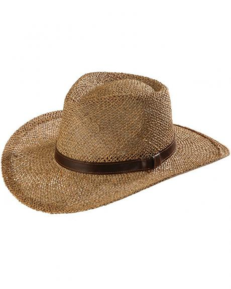 Scala Seagrass Outback Straw Hat
