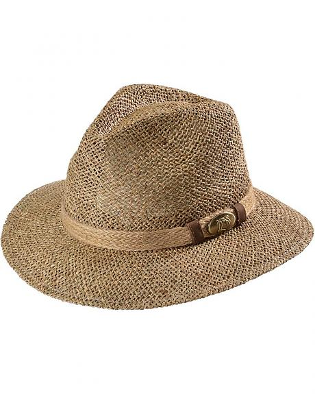 Safari Seagrass UPF50 Outback Hat