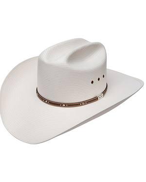 Resistol George Strait Kingman 10X Straw Cowboy Hat