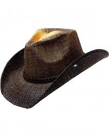 Peter Grimm TK Black Rope Hat Band Straw Cowboy Hat