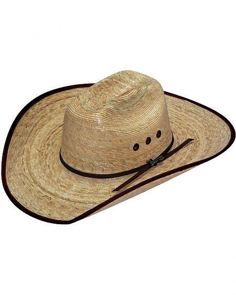 Twister Natural Palm Straw Cowboy Hat