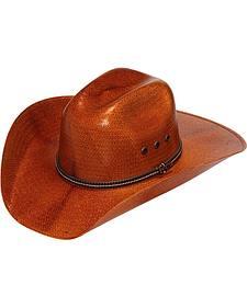 Twister Copper 8X Shantung Straw Cowboy Hat