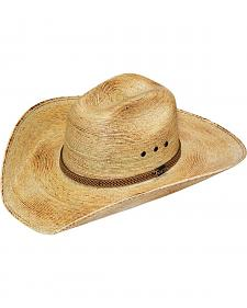 Twister Natural Fire Palm Leaf Straw Cowboy Hat