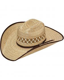 Twister 10X Shantung Bound Edge Straw Cowboy Hat