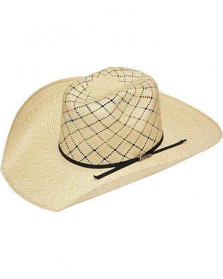 Twister 10X Shantung Twister Crown Straw Cowboy Hat