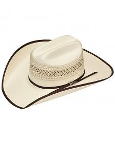 Twister 10X Shantung Double S Bound Brim Straw Cowboy Hat