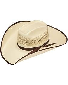 Twister 10X Shantung Bound Brim Straw Cowboy Hat