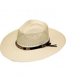 Twister Indiana Comfort Sweat Shield Straw Cowboy Hat