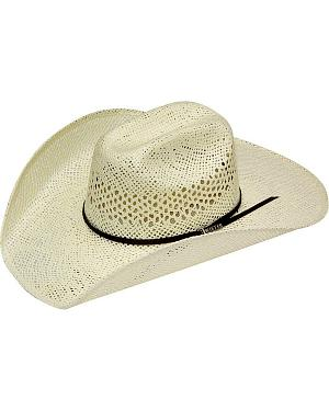 Twister Weave Maverick Straw Cowboy Hat