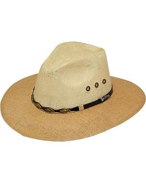 Twister 8X Jute Straw Cowboy Hat