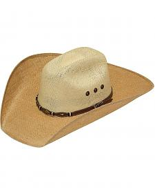 Twister 8X Jute Concho Hat Band Straw Cowboy Hat