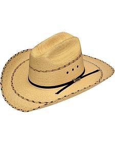 Twister Pita Palm Double S Straw Hat