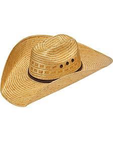 Twister 8X Shantung Maverick Straw Cowboy Hat