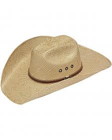 Twister 10X Shantung Maverick Straw Cowboy Hat