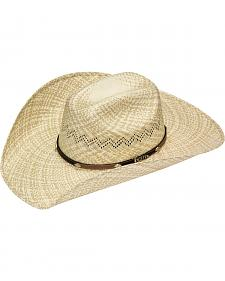 Twister 10X Shantung Maverick Concho Band Straw Cowboy Hat