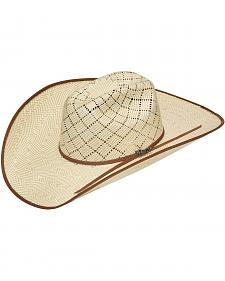 Twister 10X Shantung Bound Edge Maverick Straw Cowboy Hat