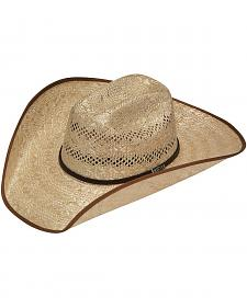 Twister 8X Shantung Maverick Bound Brim Straw Cowboy Hat