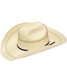 Twister 20X Shantung Maverick Straw Cowboy Hat