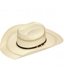 Twister 20X Shantung Buckle Band Straw Cowboy Hat