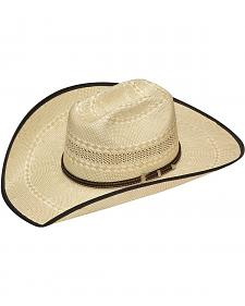 Twister 20X Shantung Truman Bound Edge Straw Cowboy Hat