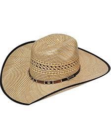 Twister 10X Americana Star Concho Straw Cowboy Hat