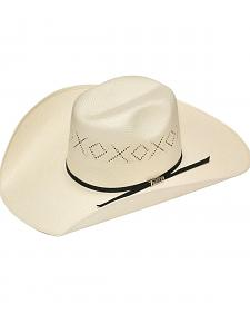 Twister 10X Shantung Ribbon Band Straw Cowboy Hat