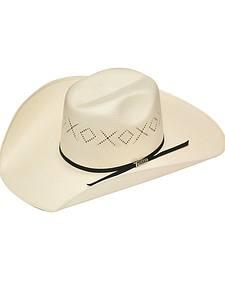 Twister 10X Shantung Ribbon Band Straw Cowboy Hat
