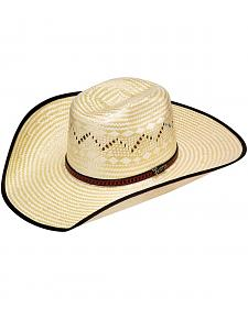 Twister Bound Edge Poly Rope Straw Cowboy Hat
