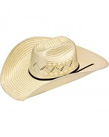 Twister Maverick Poly Rop Straw Cowboy Hat