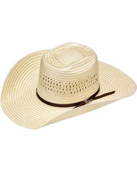 Twister Rough Stock Americana Poly Rop Straw Cowboy Hat