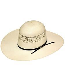 Twister Premium Bangora Open Crown Straw Cowboy Hat