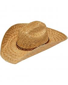 Twister 8X Sisal Maverick Straw Cowboy Hat