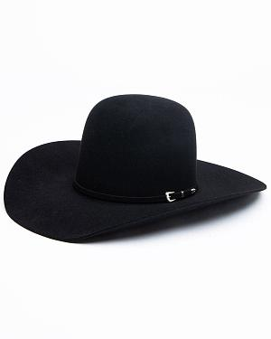 Tony Lama Vegas Black & White Straw Cowboy Hat