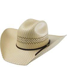Tony Lama Rio Herringbone Straw Cowboy Hat