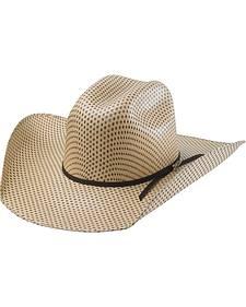 Tony Lama Rio Spotted Sheridan Straw Cowboy Hat