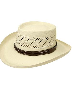 Black Creek Gambler Straw Hat