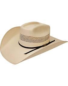 Silverado Brick Bangora Straw Cowboy Hat