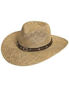 Silverado Seagrass Straw Hat