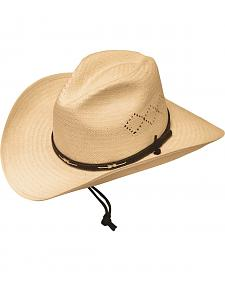 Silverado Bend-A-Brim Straw Cowboy Hat