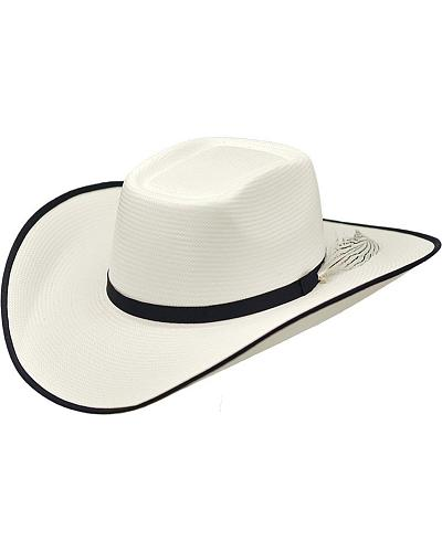 Master Hatters Mens Open Range Rough Stock 20X Straw Cowboy Hat Western & Country 716581B07