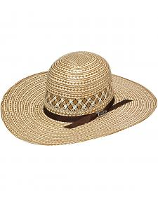Twister 10X Open Crown Straw Cowboy Hat