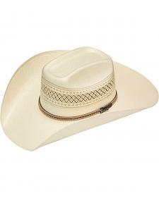 Twister 10X Shantung Colton Beaded Band Straw Cowboy Hat