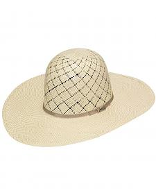Twister 10X Shantung Open Crown Straw Cowboy Hat