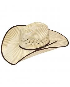 Twister Houston Bound Edge Poly Rope Straw Cowboy Hat