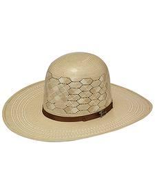 Twister 10X Shantung Open Crown Straw Cowboy Hat