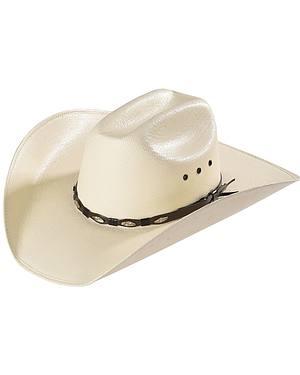 Bullhide Alamo 50X Shantung Straw Cowboy Hat