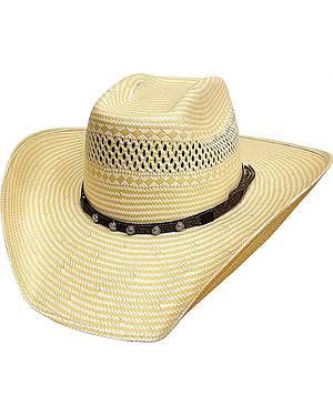 Bullhide Borrowed Time 50X Shantung Straw Cowboy Hat