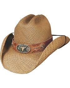 Bullhide True Grit Panama Straw Cowboy Hat
