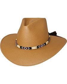Bullhide Sequoia Shantung Panama Straw Cowboy Hat