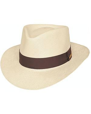Bullhide Traveler Palm Leaf Straw Hat